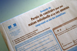 Help with your 'permis de construire' Normandy, France